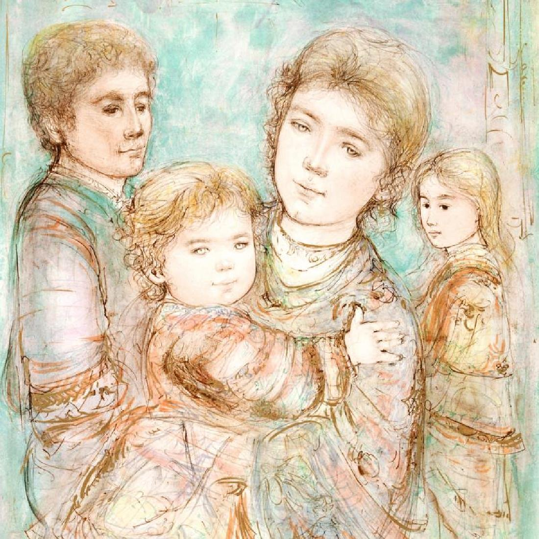 """""""Portrait of a Family"""" Limited Edition Lithograph (28"""" - 2"""