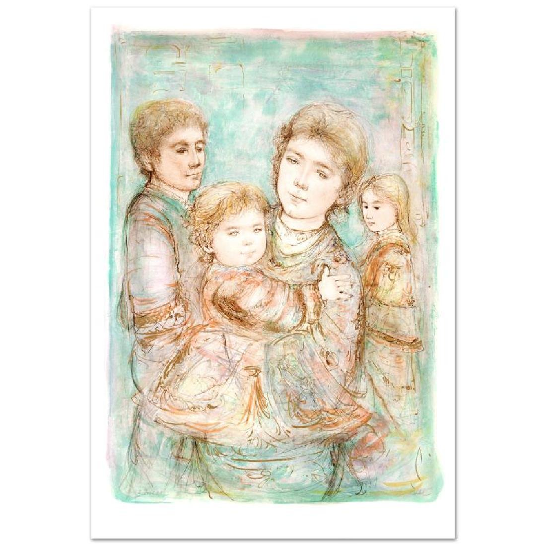 """""""Portrait of a Family"""" Limited Edition Lithograph (28"""" - 3"""
