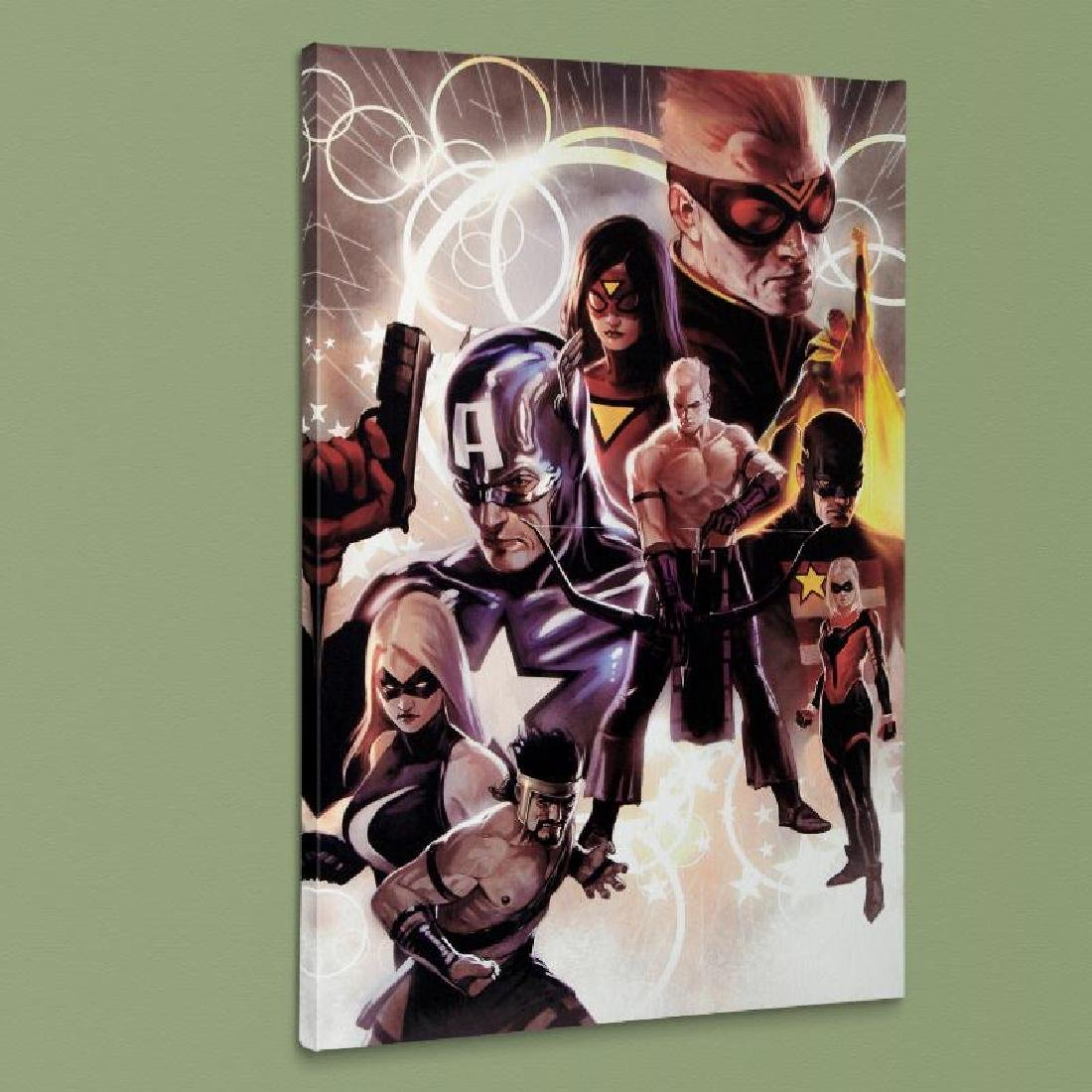 """The Mighty Avengers #30"" Extremely LIMITED EDITION - 4"