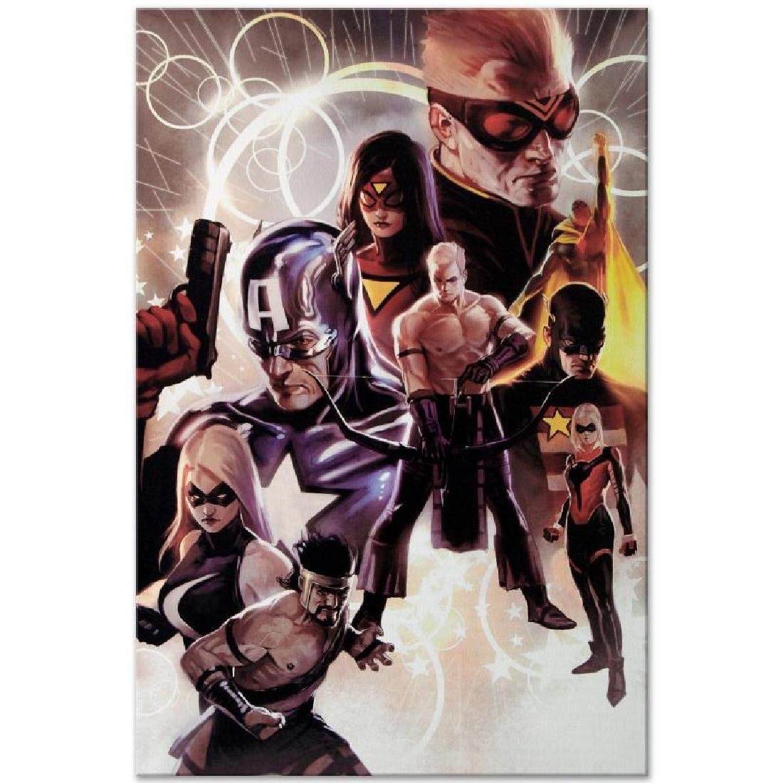 """""""The Mighty Avengers #30"""" Extremely LIMITED EDITION - 5"""