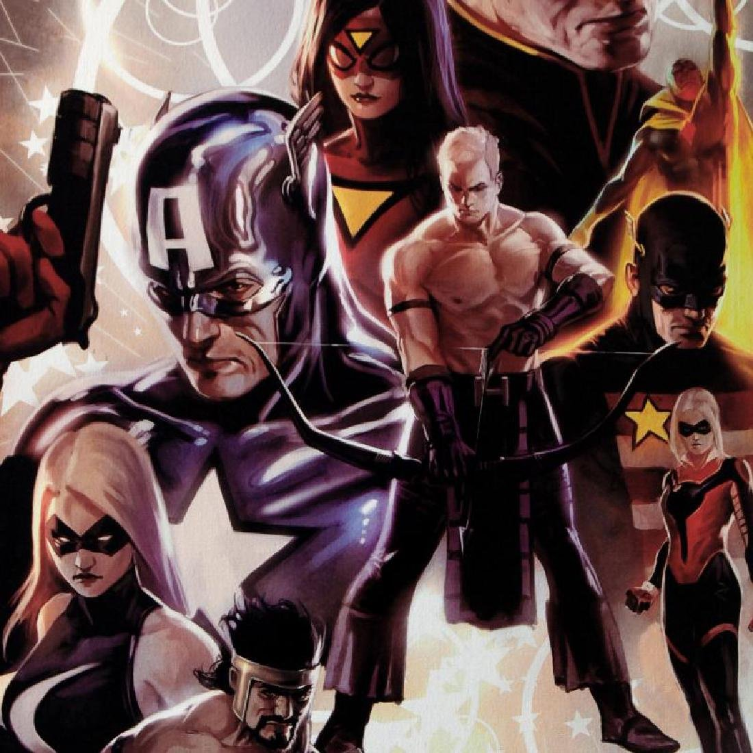 """""""The Mighty Avengers #30"""" Extremely LIMITED EDITION - 6"""