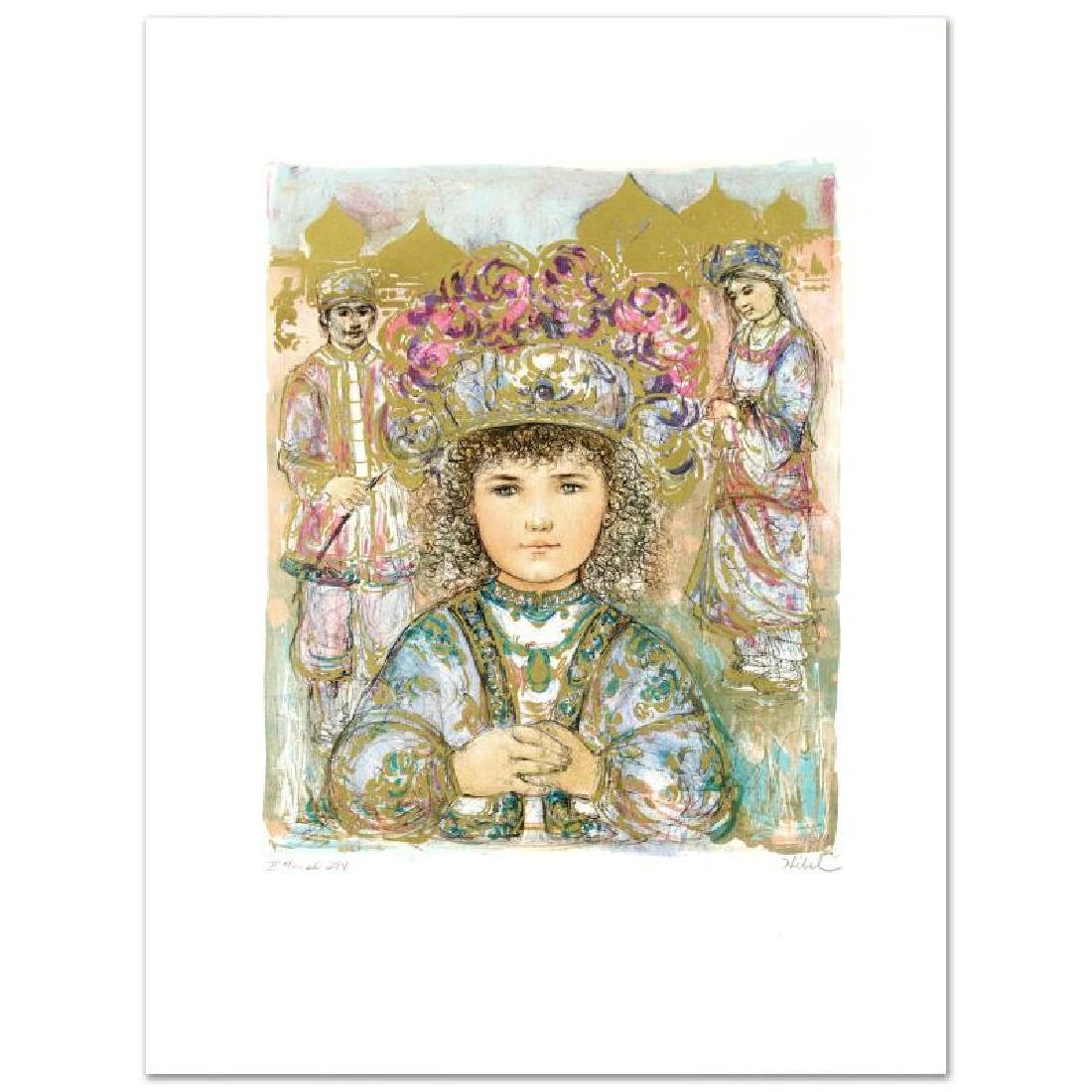 """Darya's Daughter"" Limited Edition Lithograph by Edna - 3"