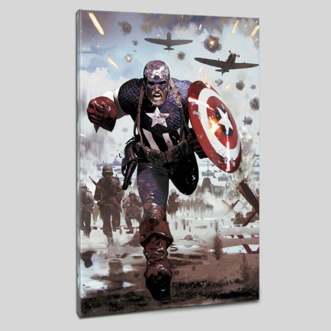 """Captain America #615"" LIMITED EDITION Giclee on Canvas"