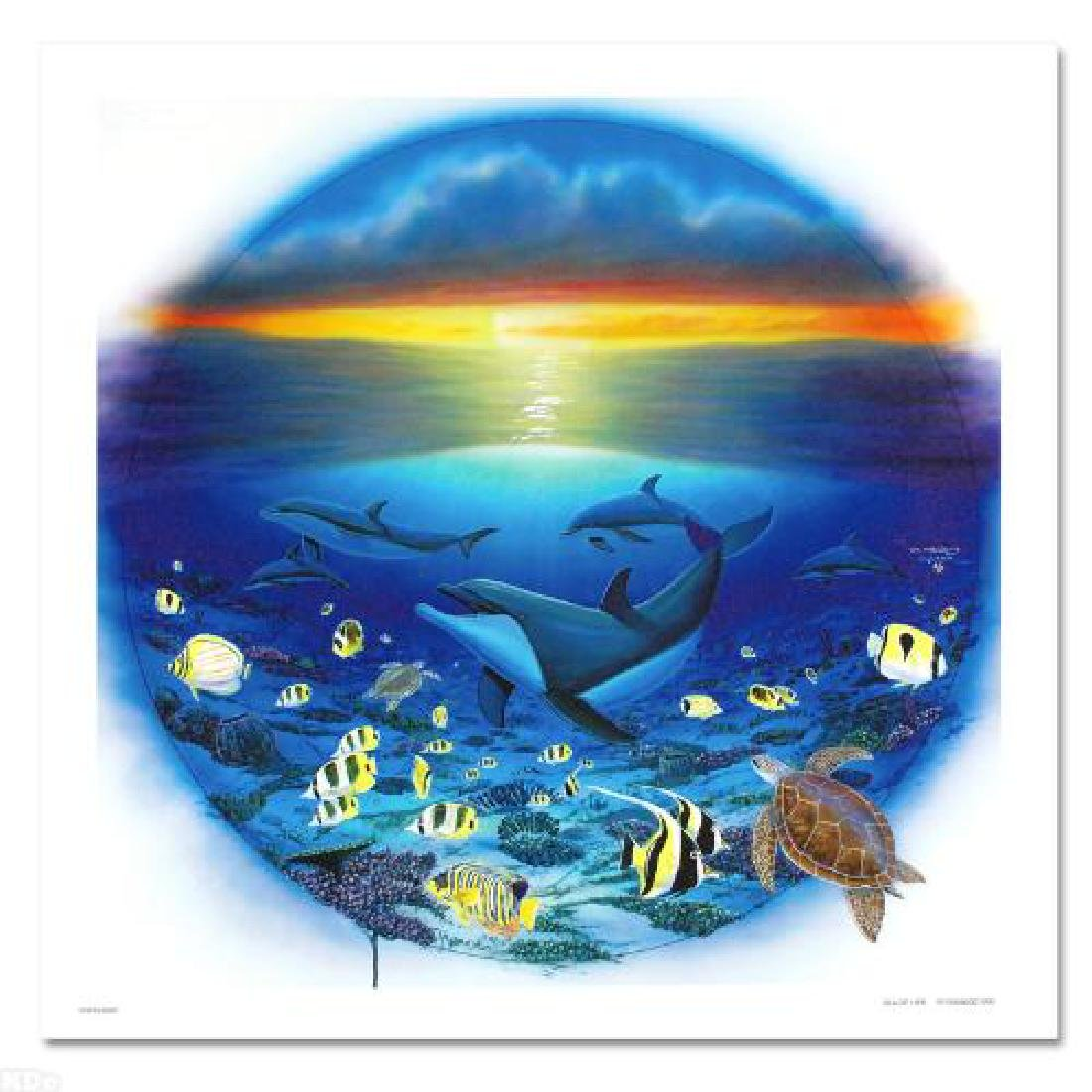 Sea of Life LIMITED EDITION Giclee on Canvas by