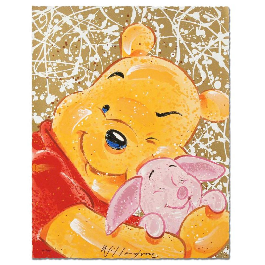 Very Important Piglet Disney Limited Edition Serigraph
