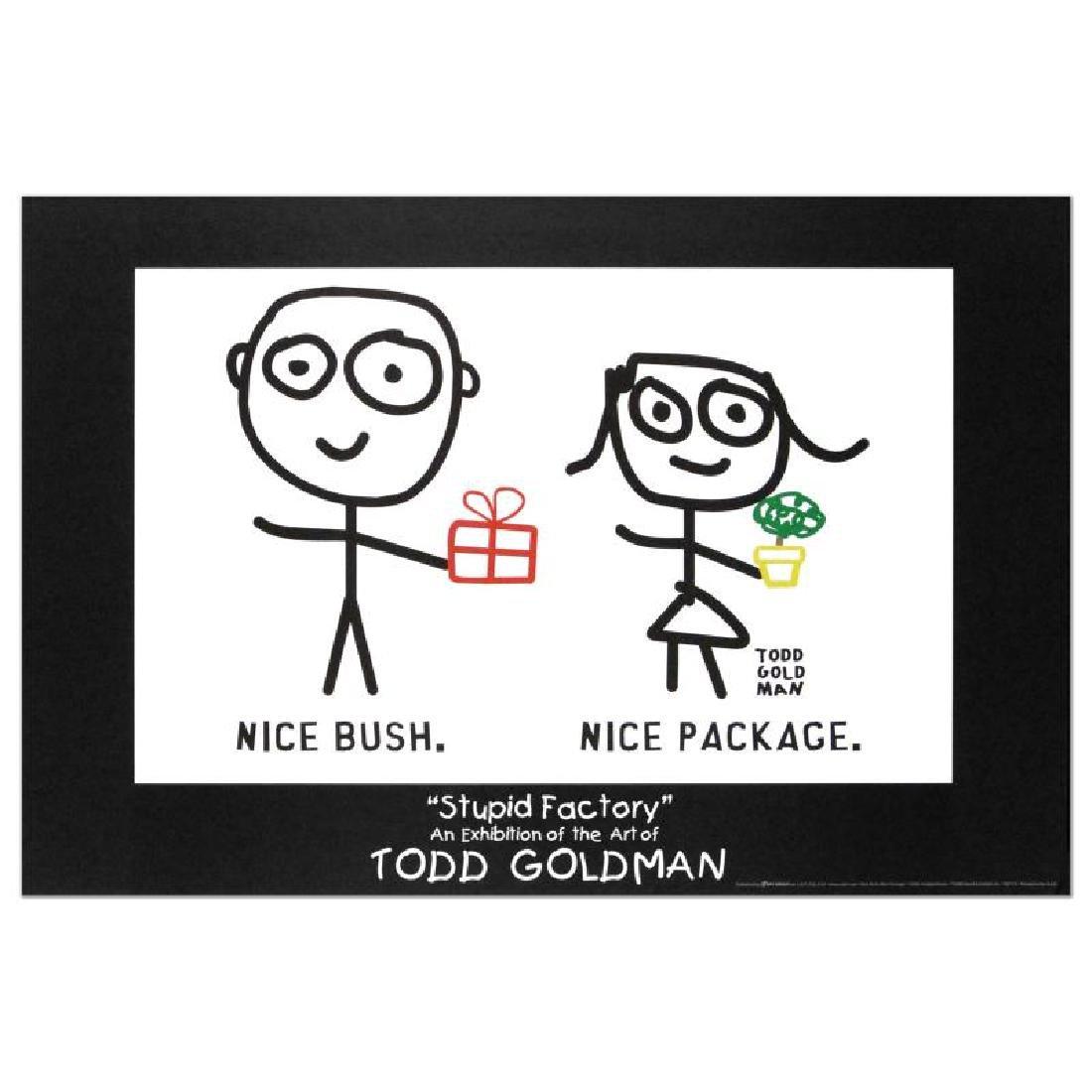 """Nice Package. Nice Bush."" Fine Art Litho Poster (36"" x - 3"