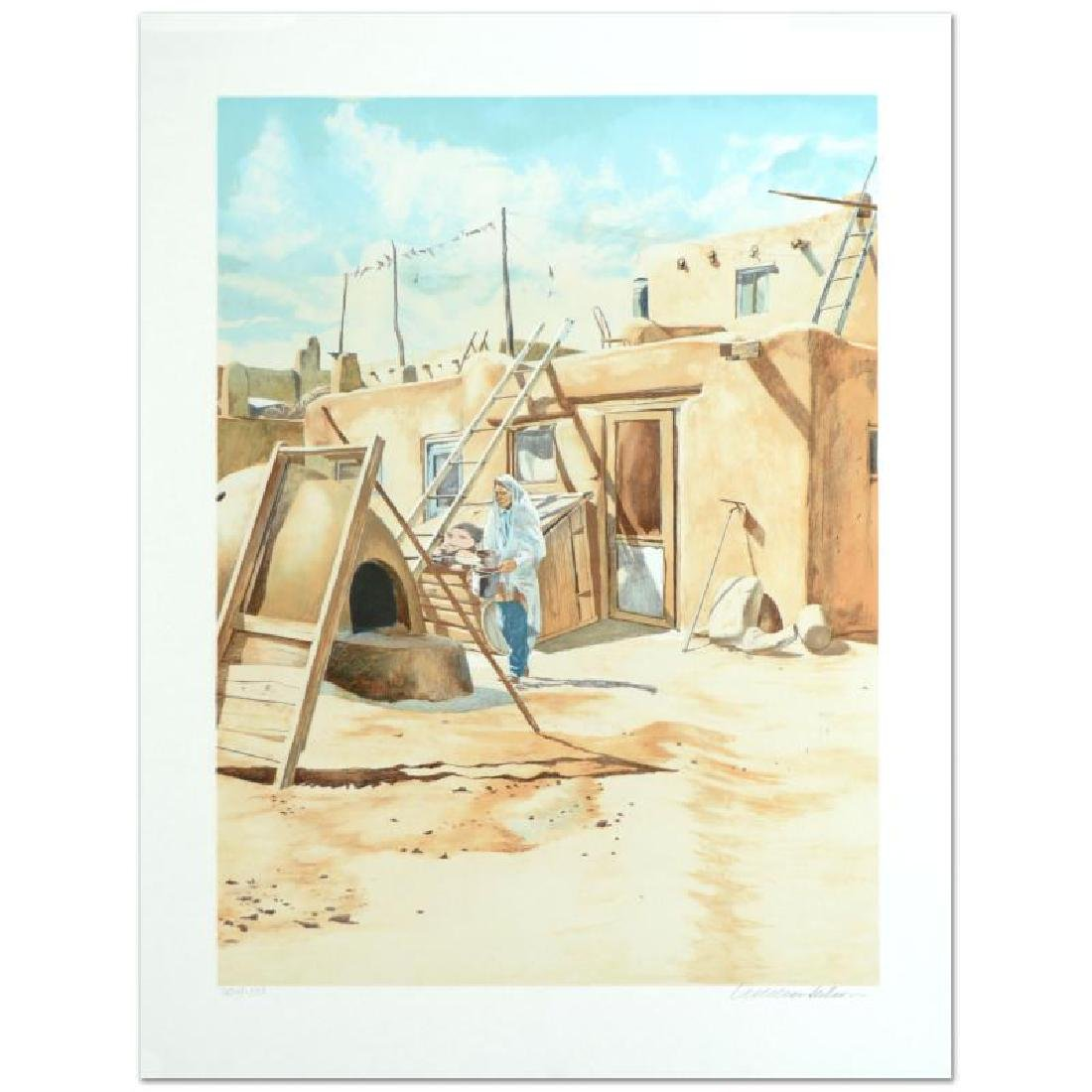 "William Nelson - ""Adobe Man"" Limited Edition Serigraph - 3"