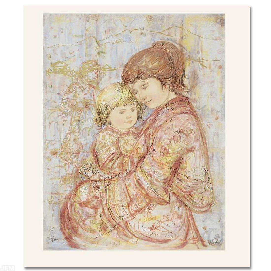 """Carolina & Suellen"" Limited Edition Serigraph by Edna"