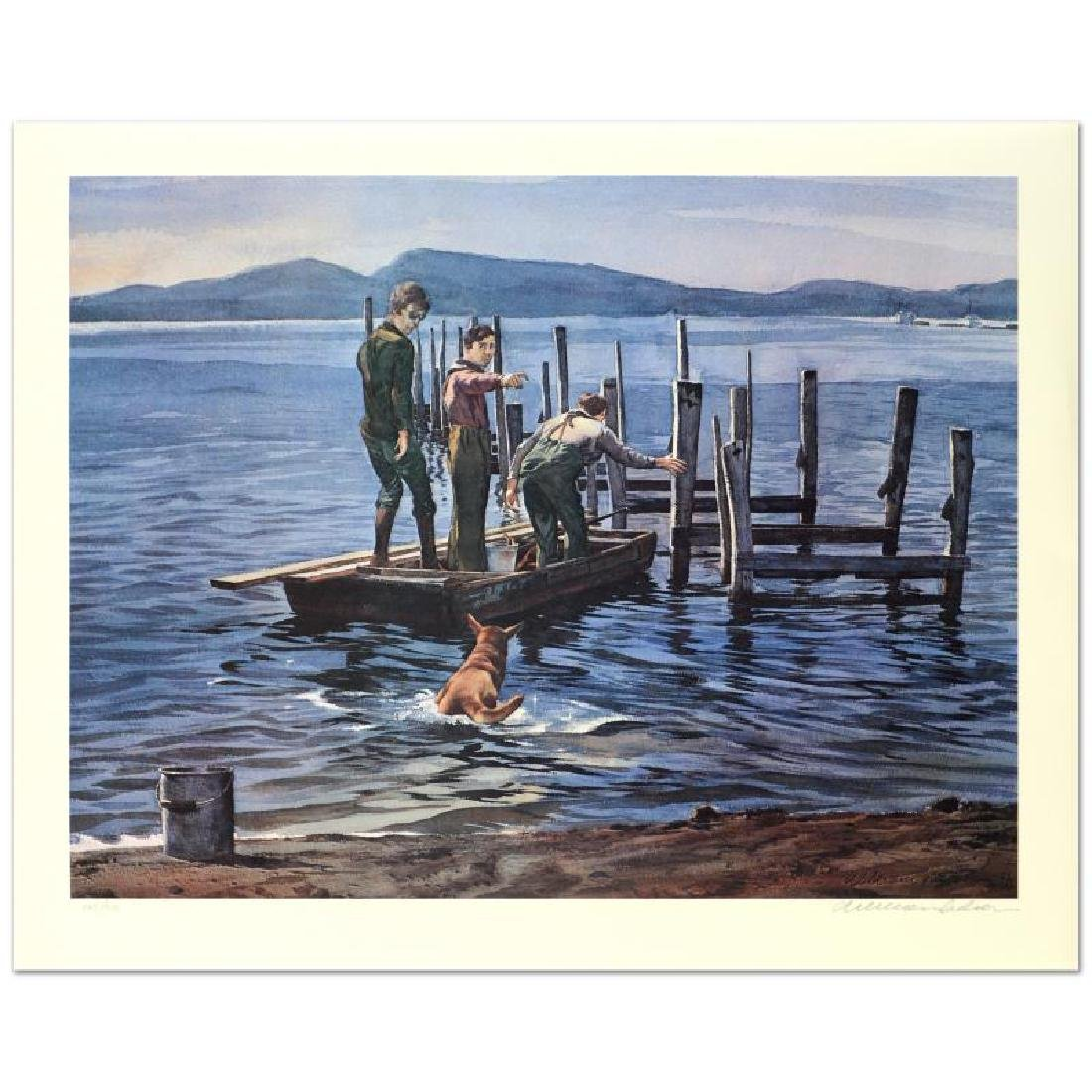 "William Nelson - ""Hansen's Pier"" Limited Edition"