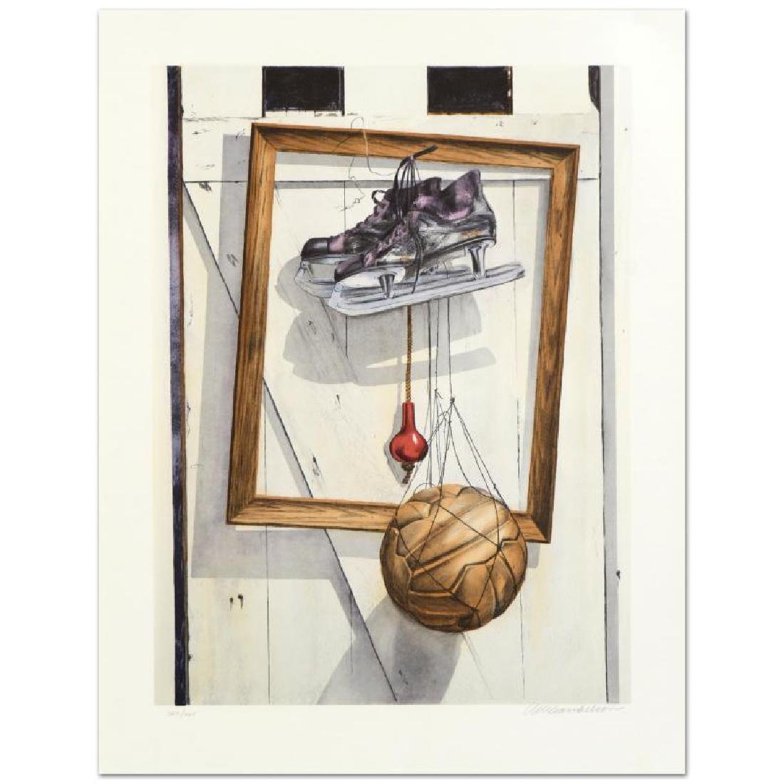 "William Nelson - ""Still Life on Barn Door"" Limited"