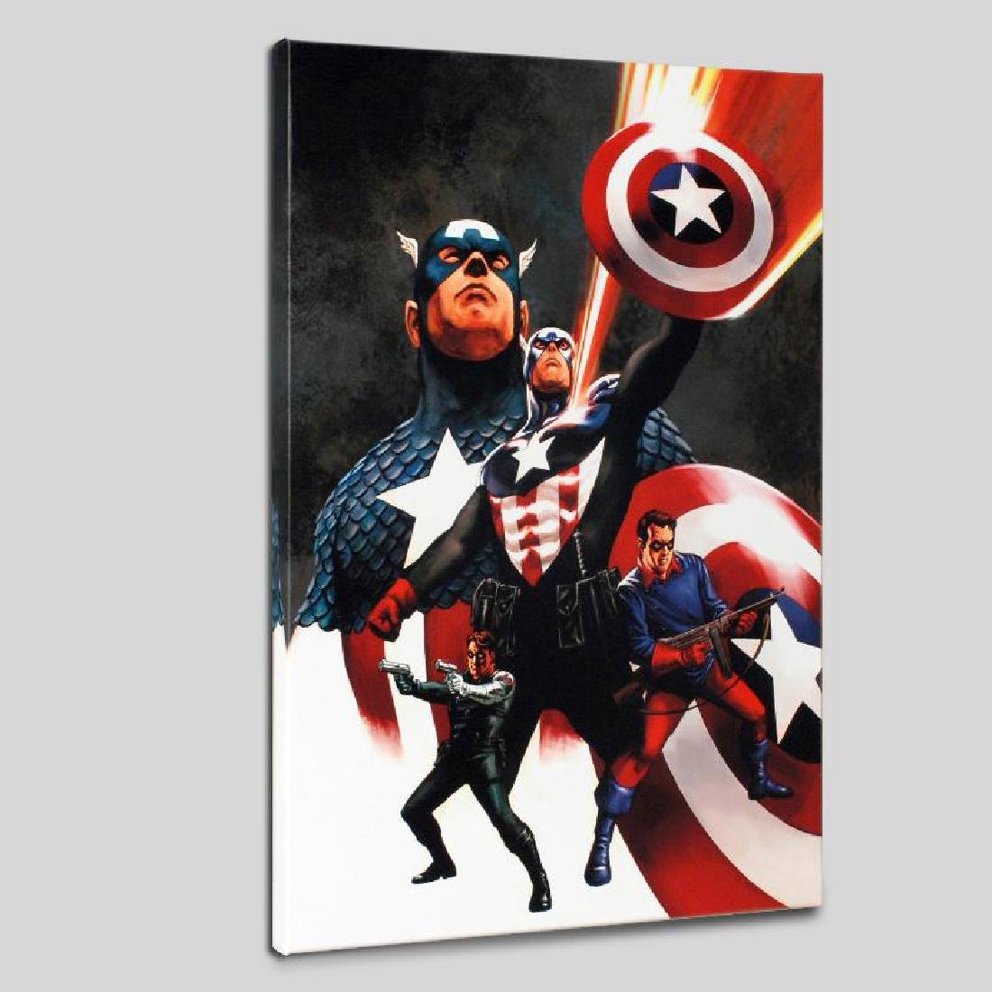 """Captain America #600"" Limited Edition Giclee on Canvas"