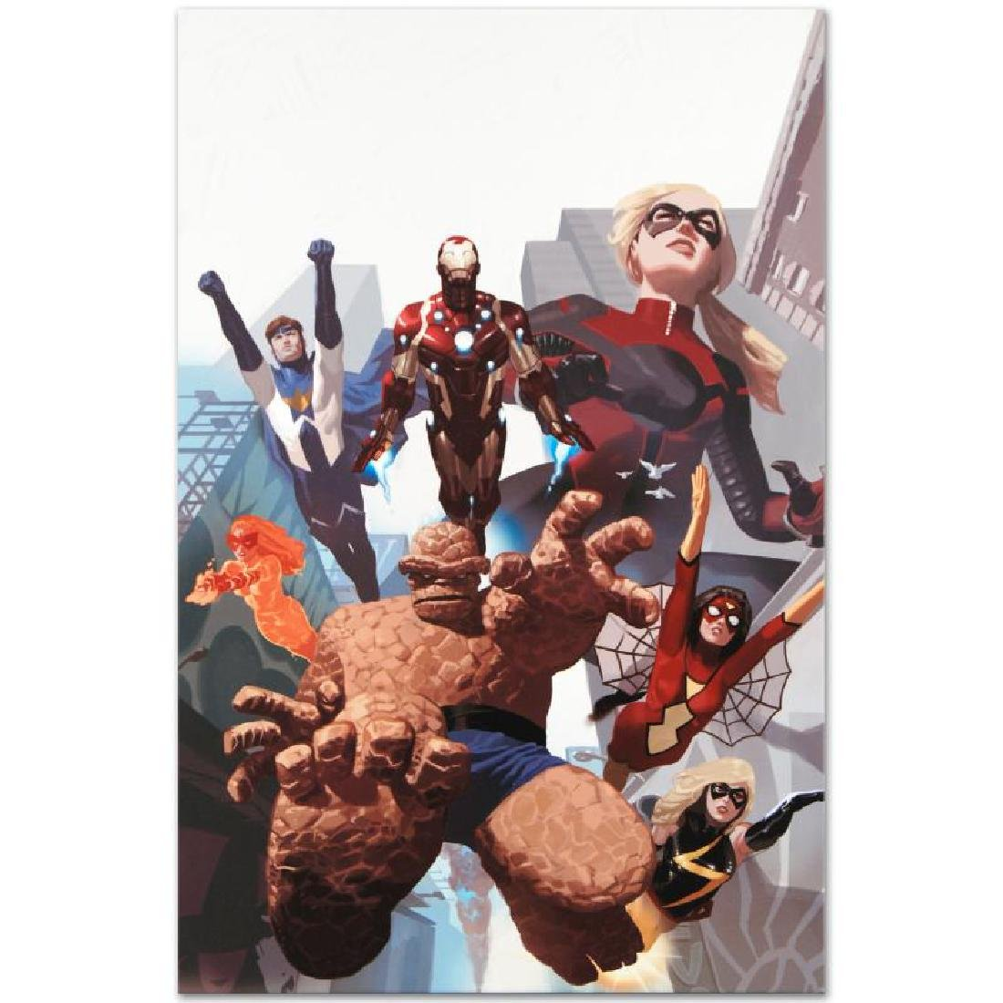 """""""I Am An Avenger #4"""" Limited Edition Giclee on Canvas - 5"""
