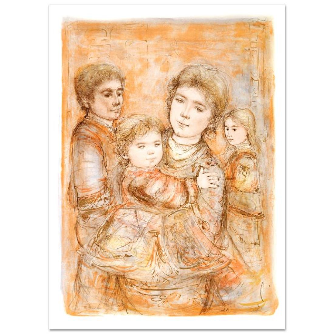 """Portrait of a Family"" Limited Edition Lithograph (28"""