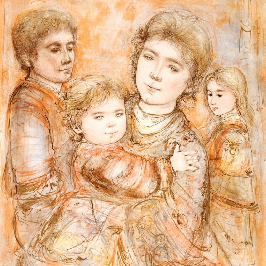 """""""Portrait of a Family"""" Limited Edition Lithograph (28"""" - 4"""
