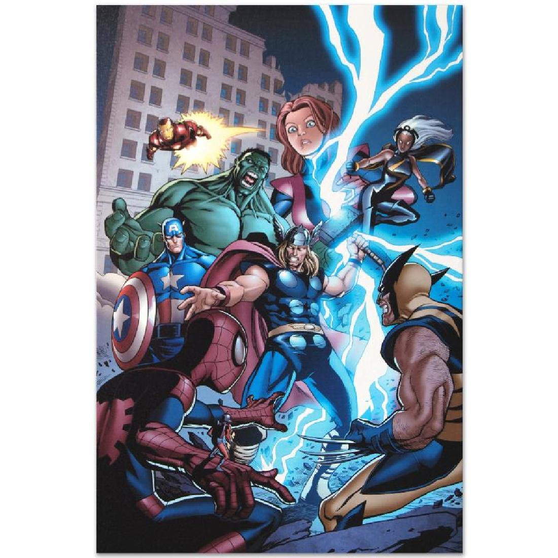 """""""Marvel Adventures: The Avengers #31"""" LIMITED EDITION - 5"""
