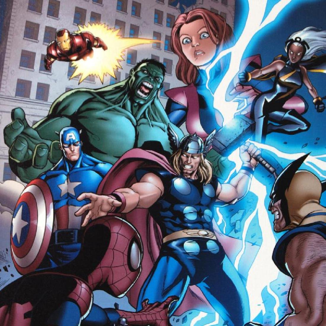 """""""Marvel Adventures: The Avengers #31"""" LIMITED EDITION - 6"""