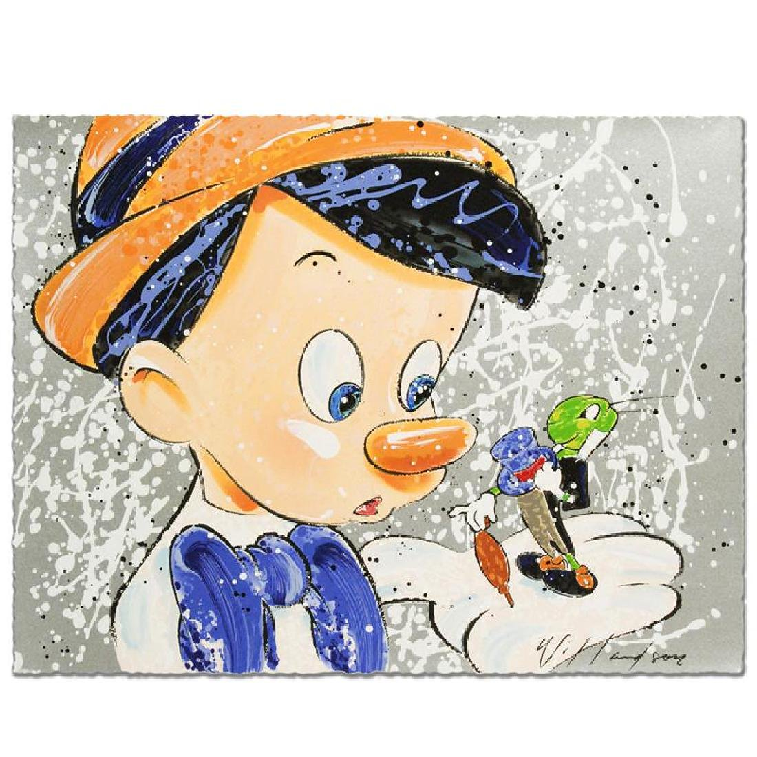 Boy Oh Boy Oh Boy Disney Limited Edition Serigraph by - 4