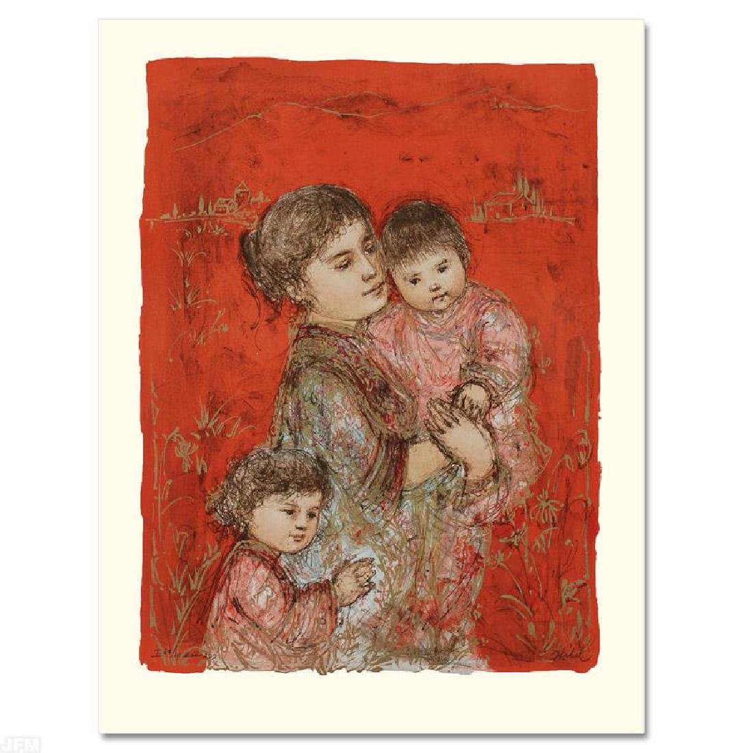 """Lorelei and Children"" Limited Edition Lithograph by"