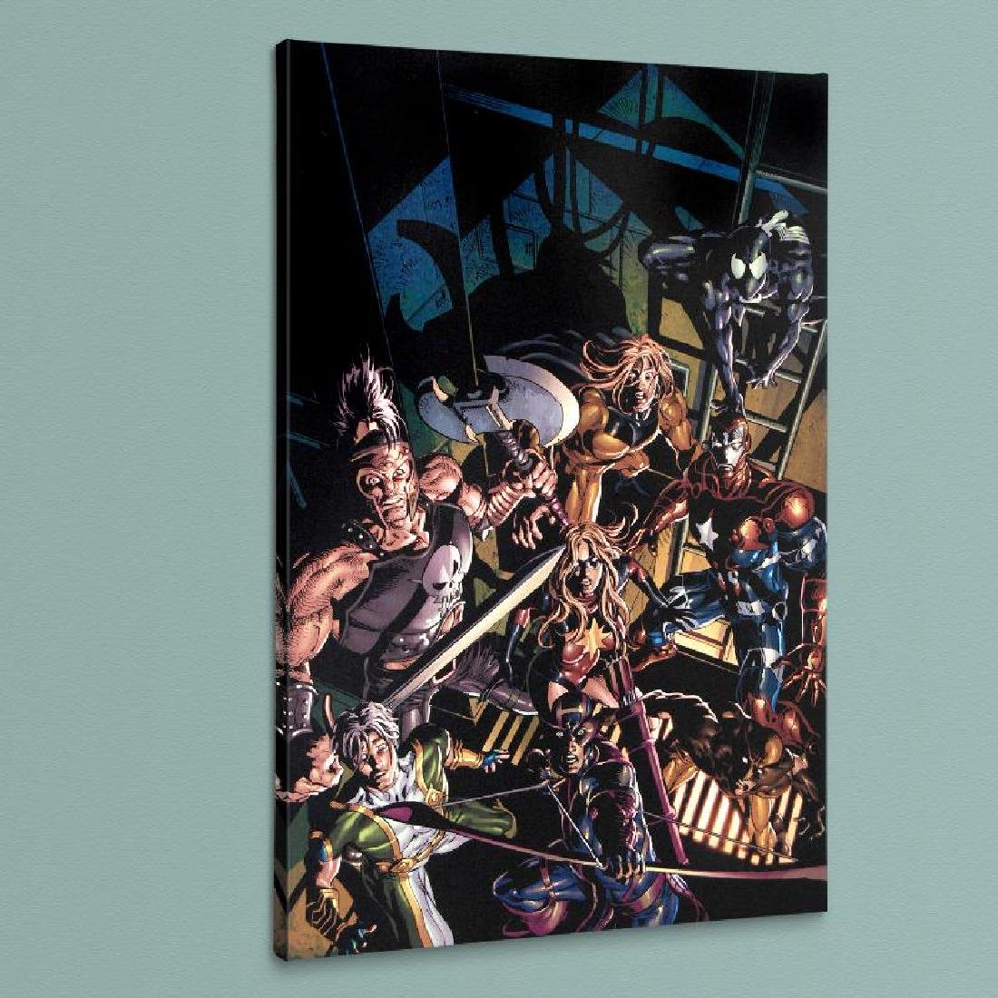 """Dark Avengers #10"" LIMITED EDITION Giclee on Canvas by"