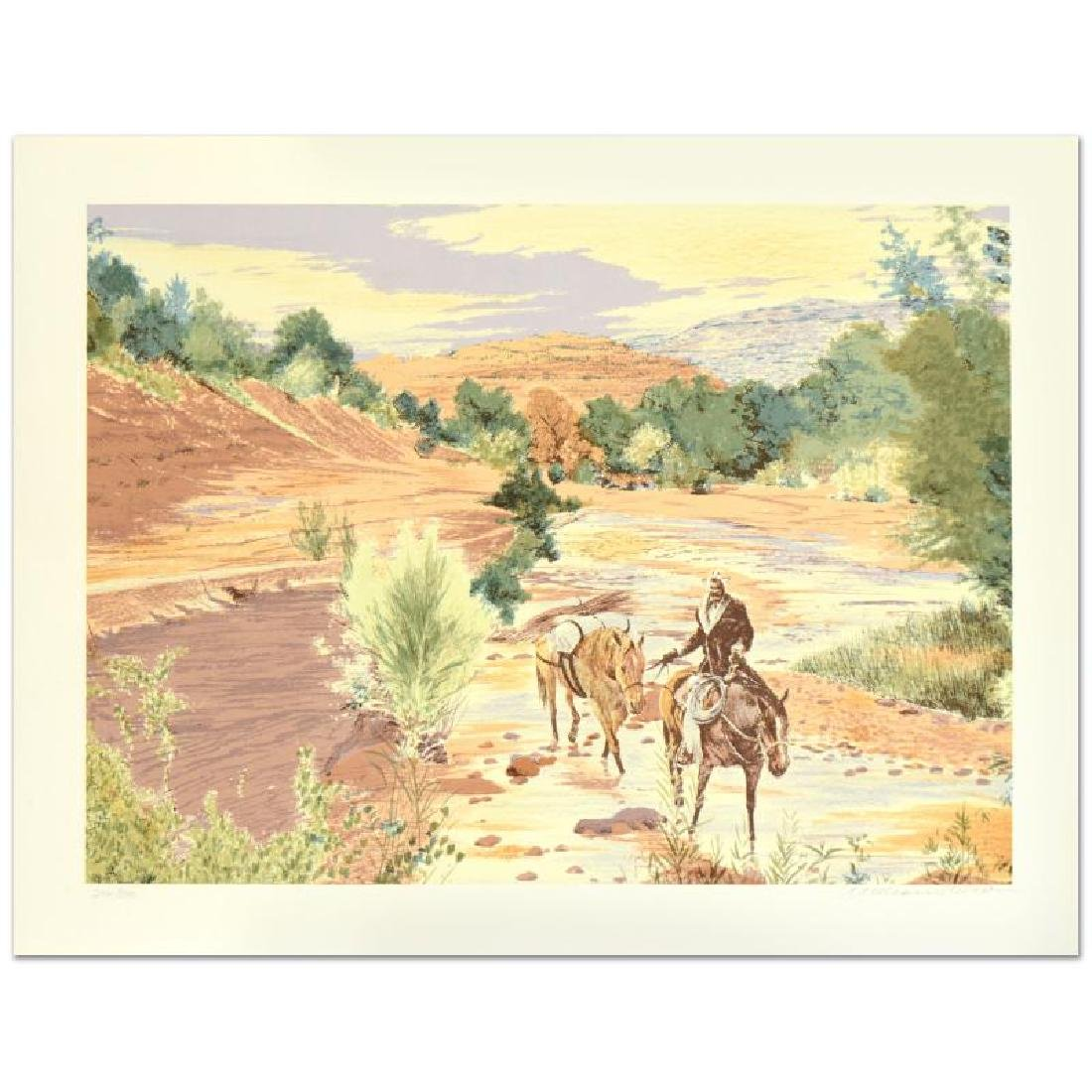 """William Nelson - """"Oak Creek Canyon"""" Limited Edition"""