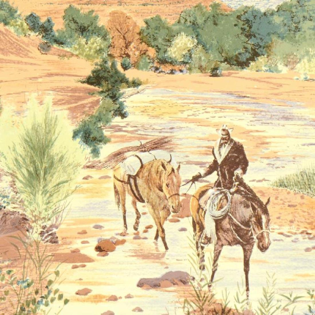 """William Nelson - """"Oak Creek Canyon"""" Limited Edition - 4"""