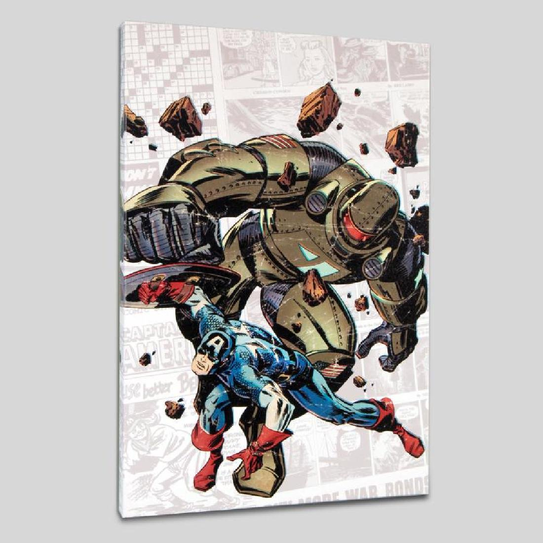 """""""Captain America: The 1940s Newspaper Strip #2"""" LIMITED - 3"""