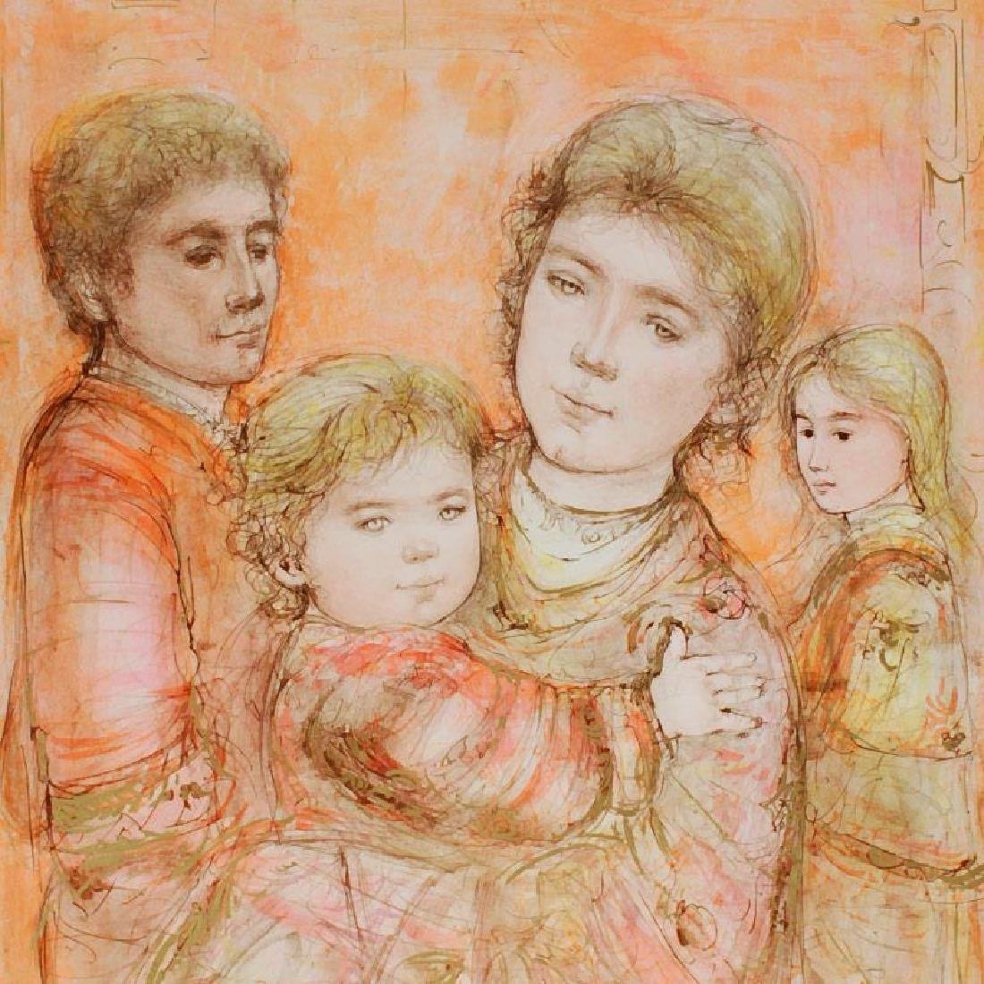"""Portrait of a Family"" LIMITED EDITION Lithograph by - 4"