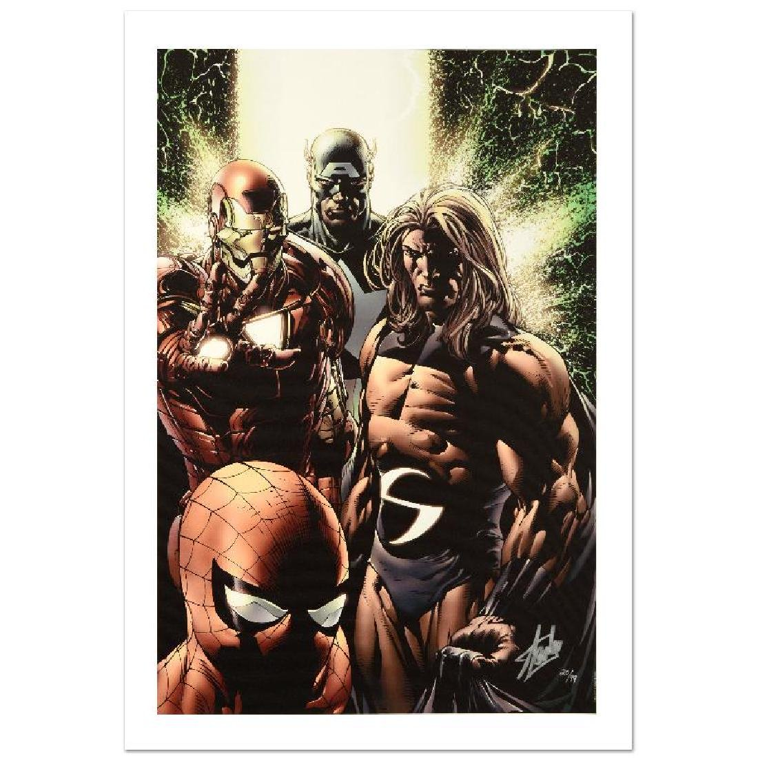 """New Avengers #8"" Limited Edition Giclee on Canvas by"