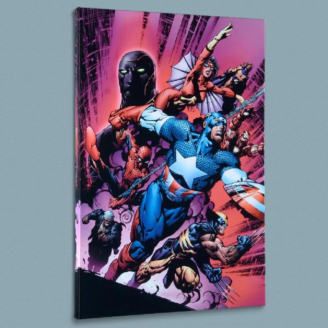 """New Avengers #12"" Limited Edition Giclee on Canvas by"