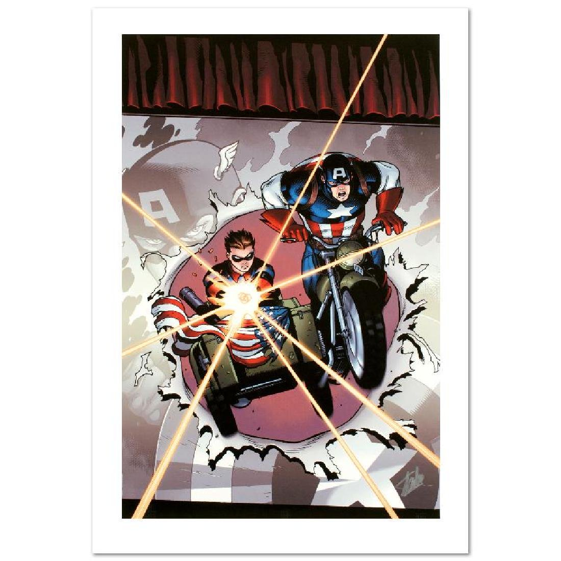 """Captain America and Bucky #621"" Limited Edition Giclee"