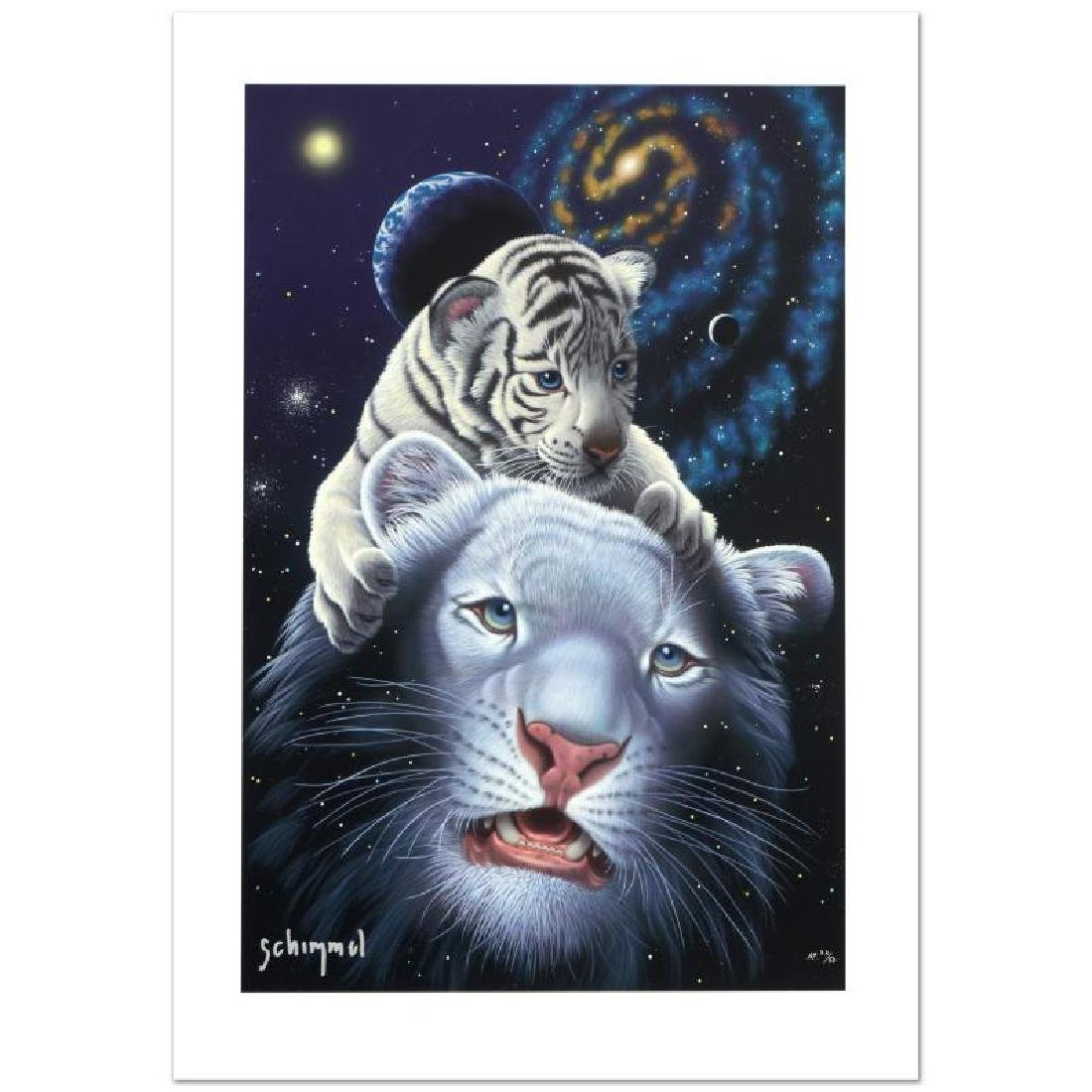 """White Tiger Magic"" Limited Edition Giclee by William"