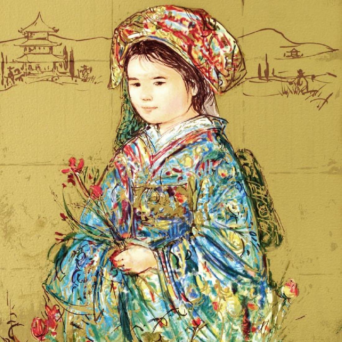 """""""Festival Kimono"""" Limited Edition Serigraph by Edna - 3"""