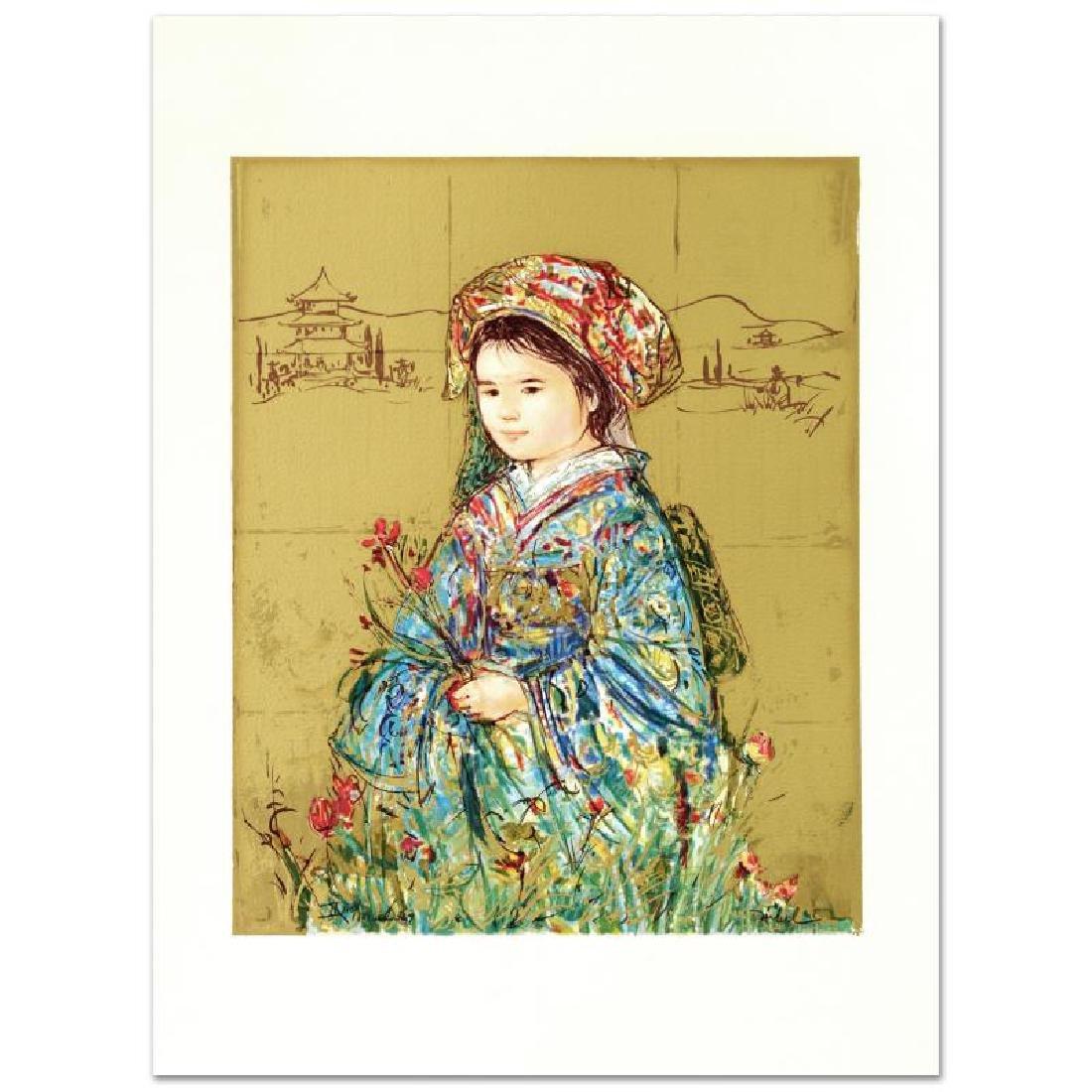 """""""Festival Kimono"""" Limited Edition Serigraph by Edna - 4"""