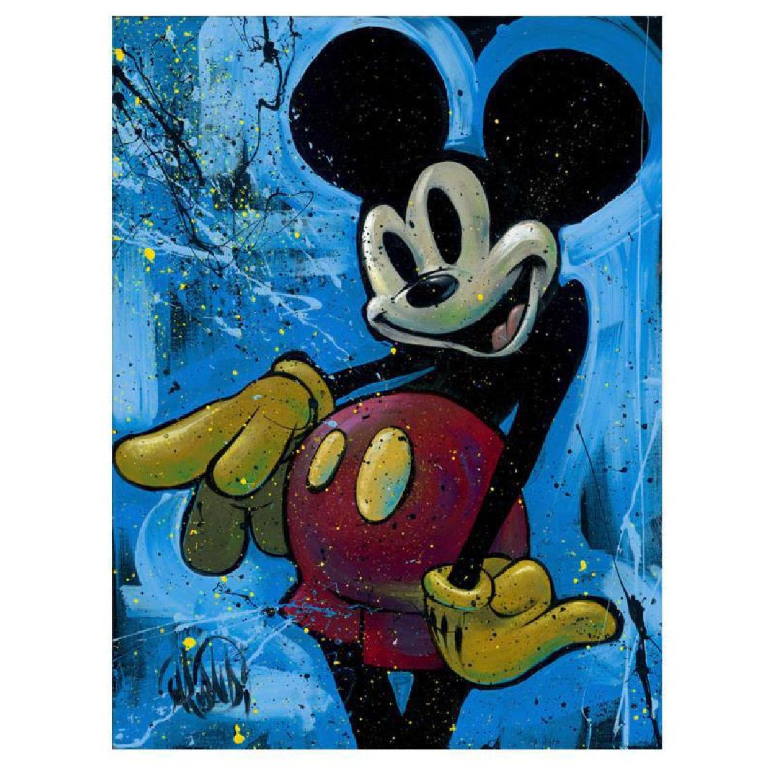 "David Garibaldi - ""Street Mouse"" Limited Edition Giclee"