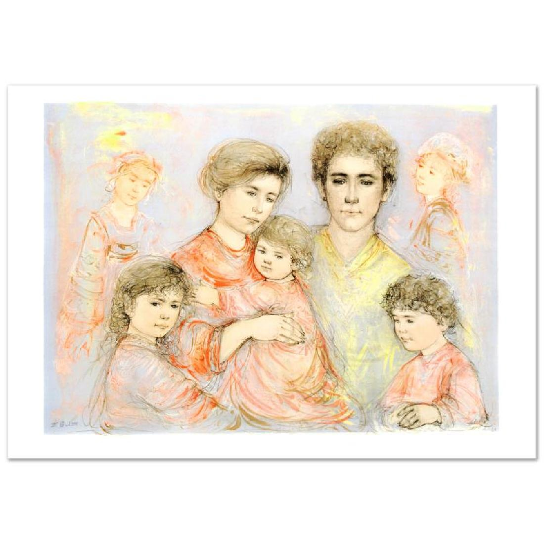 """Michael's Family"" Limited Edition Lithograph (36"" x"