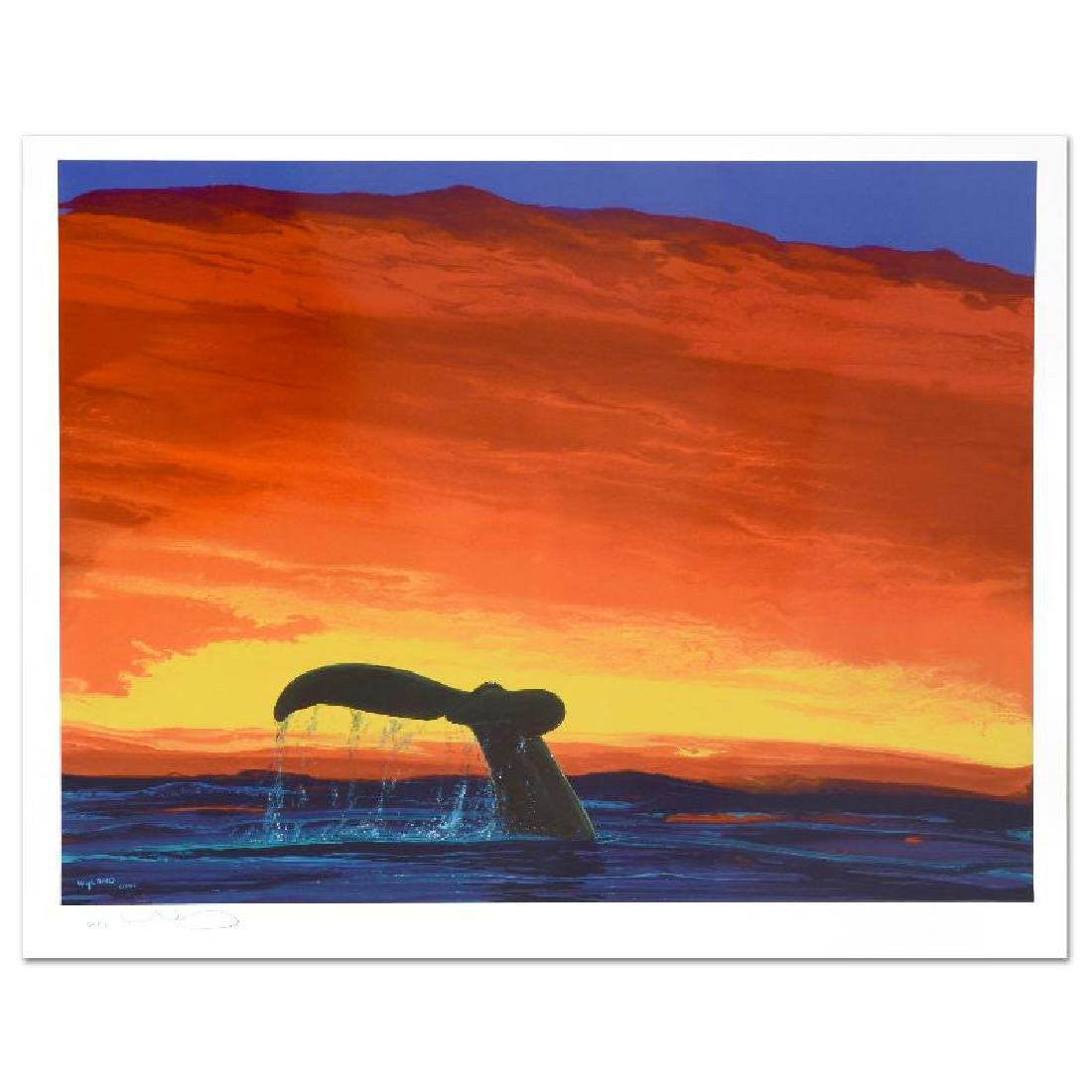 Sounding Seas Limited Edition Lithograph by Famed