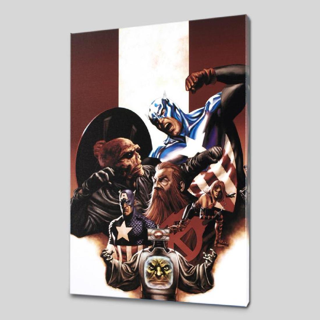"""""""Captain America #42"""" Limited Edition Giclee on Canvas - 3"""