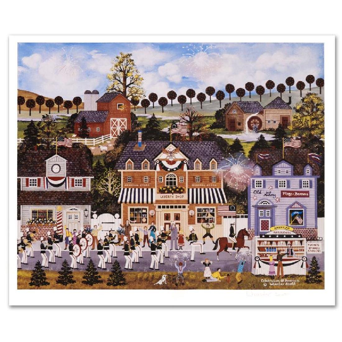 Celebration of America Limited Edition Lithograph by - 2