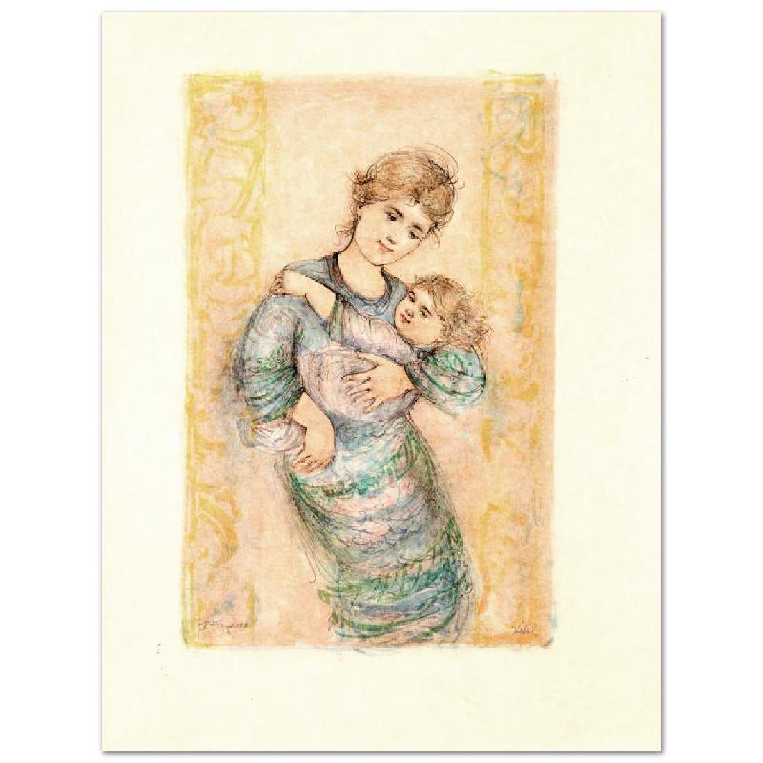 """""""Fair Alice and Baby"""" Limited Edition Lithograph by"""