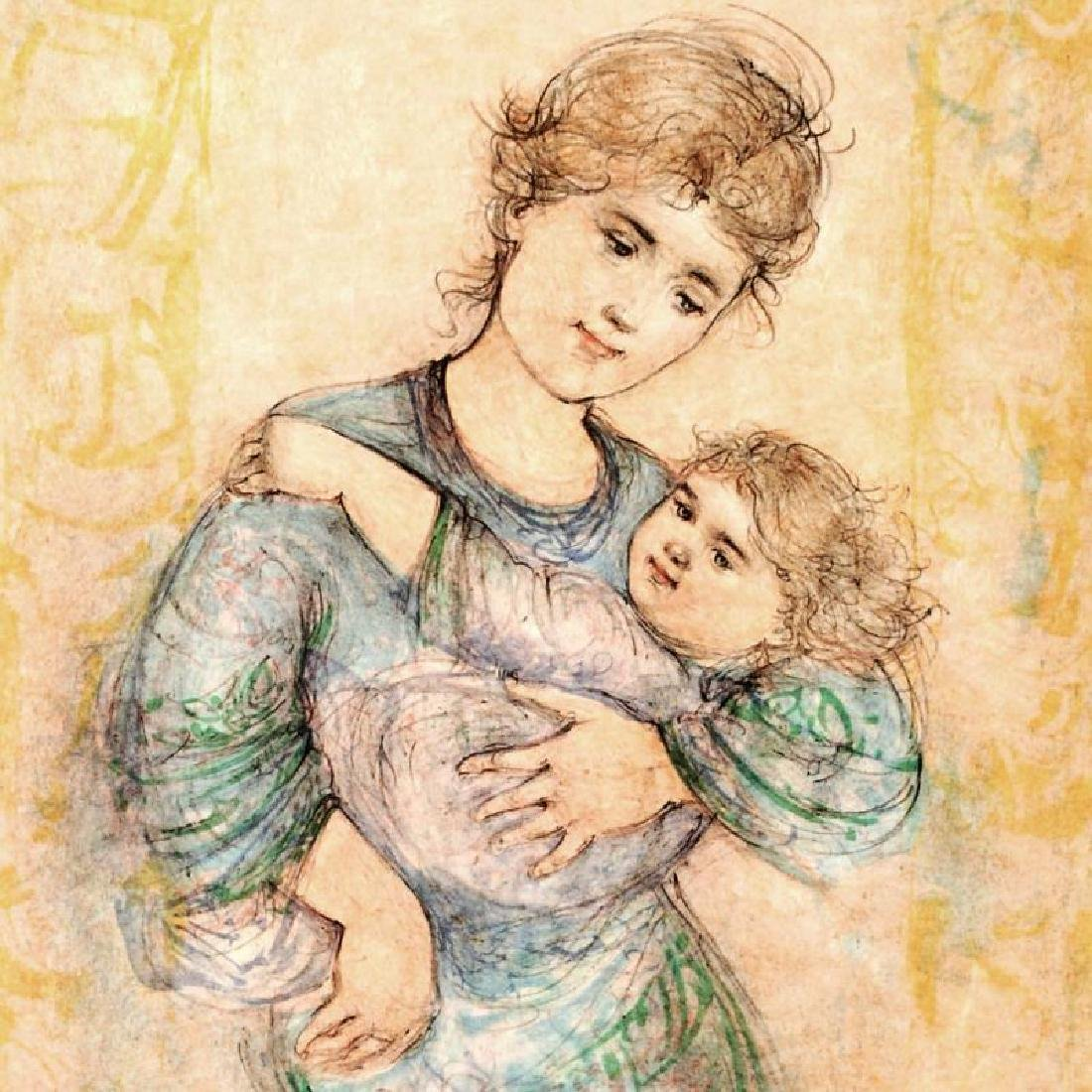 """""""Fair Alice and Baby"""" Limited Edition Lithograph by - 4"""