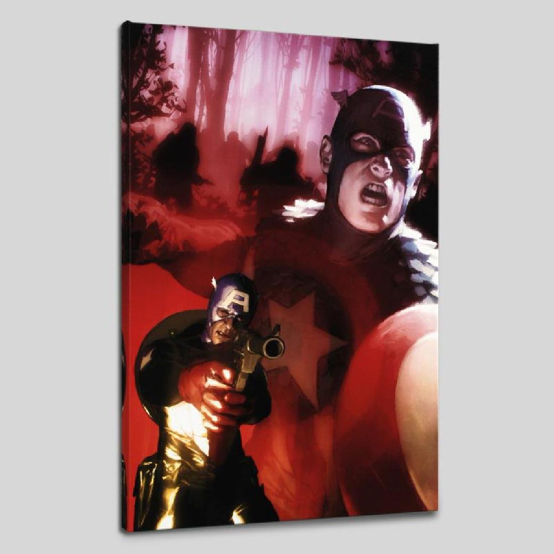 """Captain America #603"" Limited Edition Giclee on Canvas"