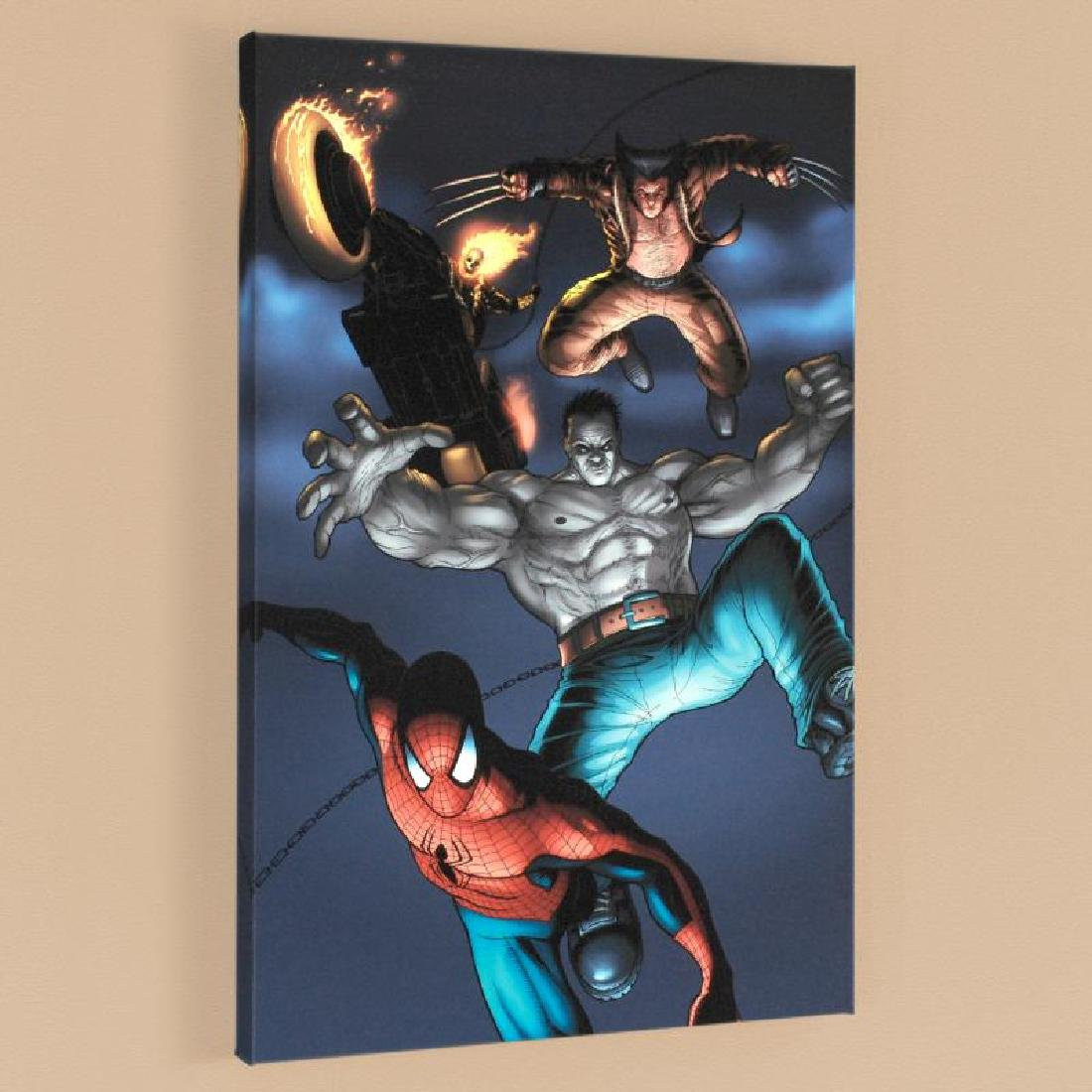 """""""Fear Itself: Fearsome Four #2"""" LIMITED EDITION Giclee"""