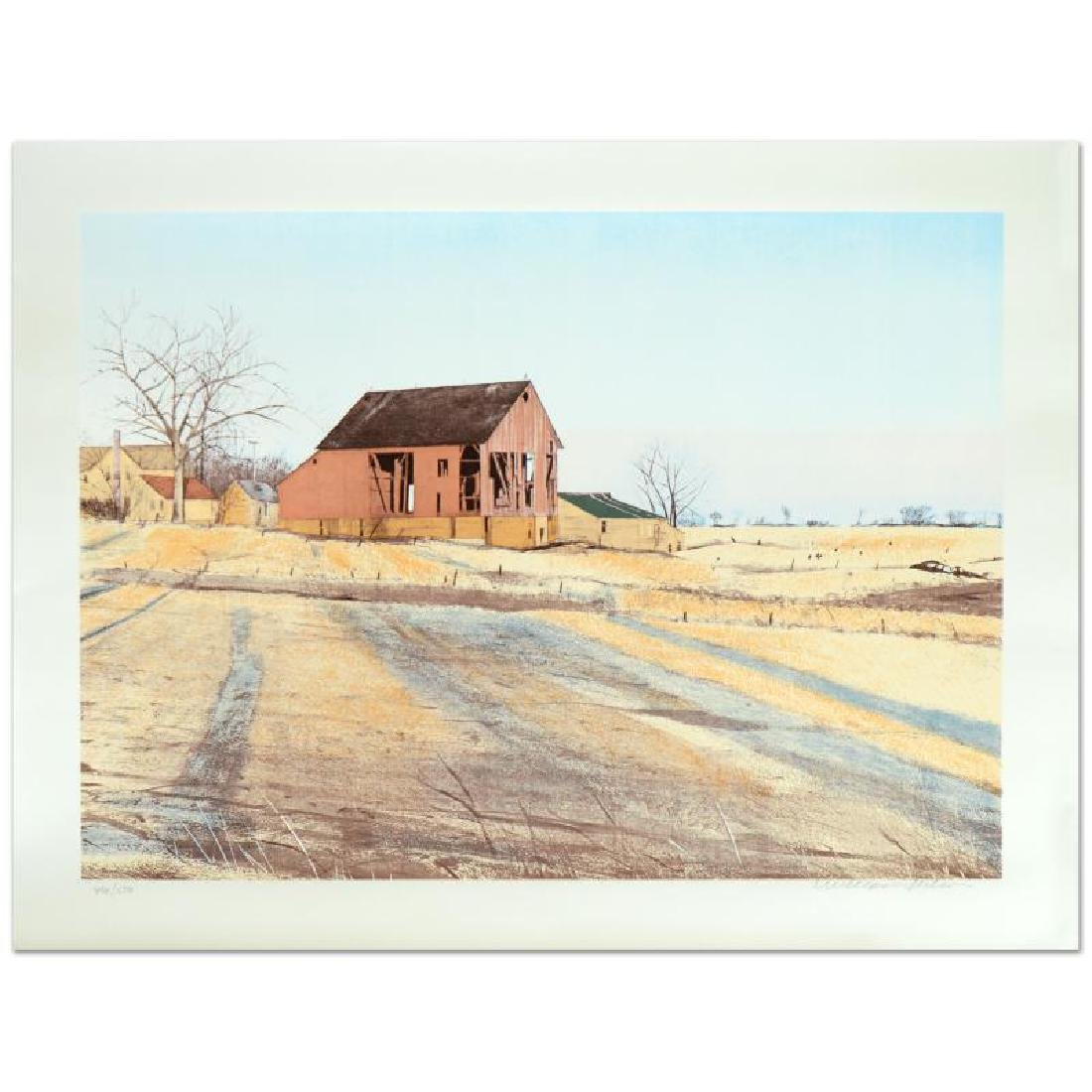"William Nelson - ""Shadows"" Limited Edition Serigraph"
