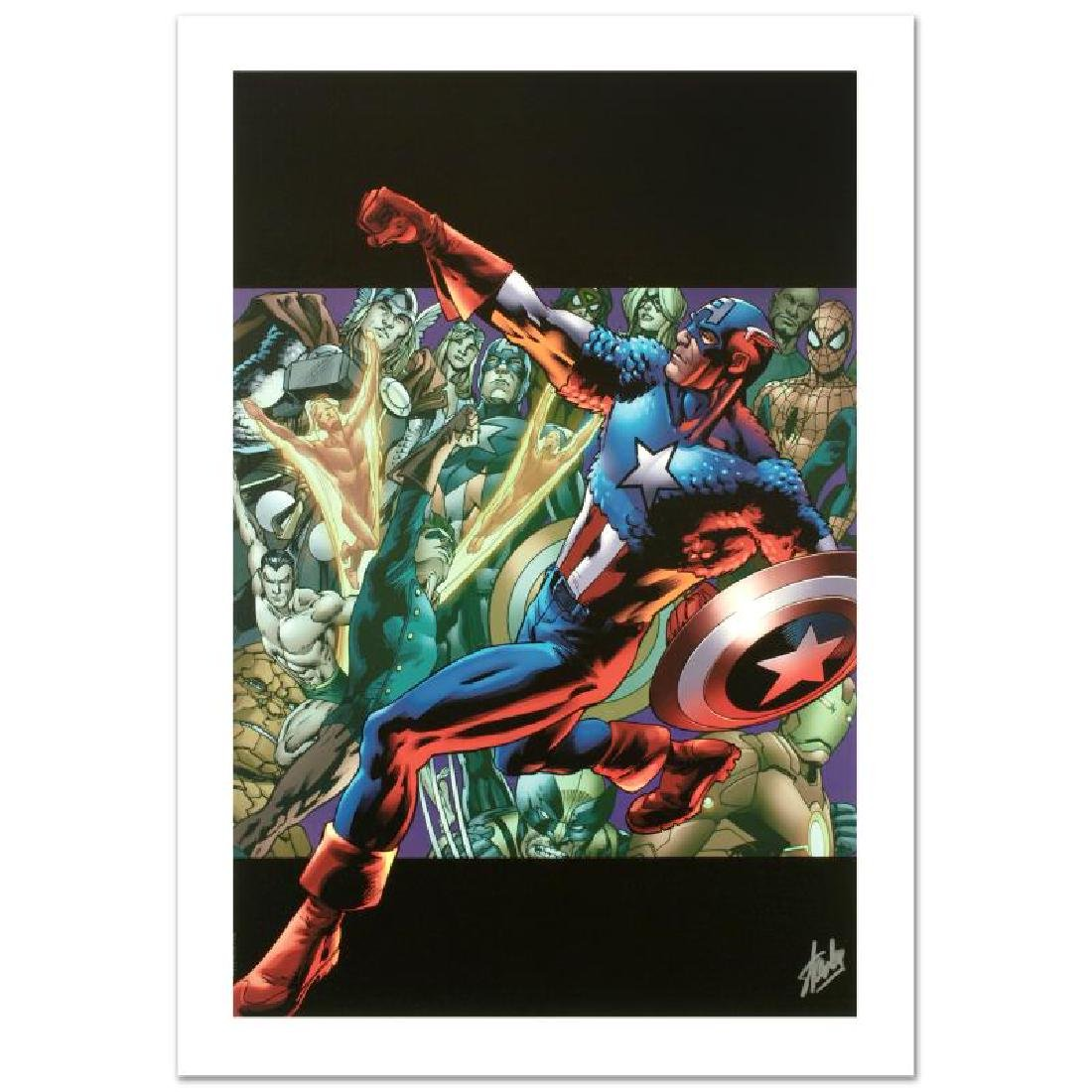 """""""Captain America: Man Out Of Time #5"""" Limited Edition"""