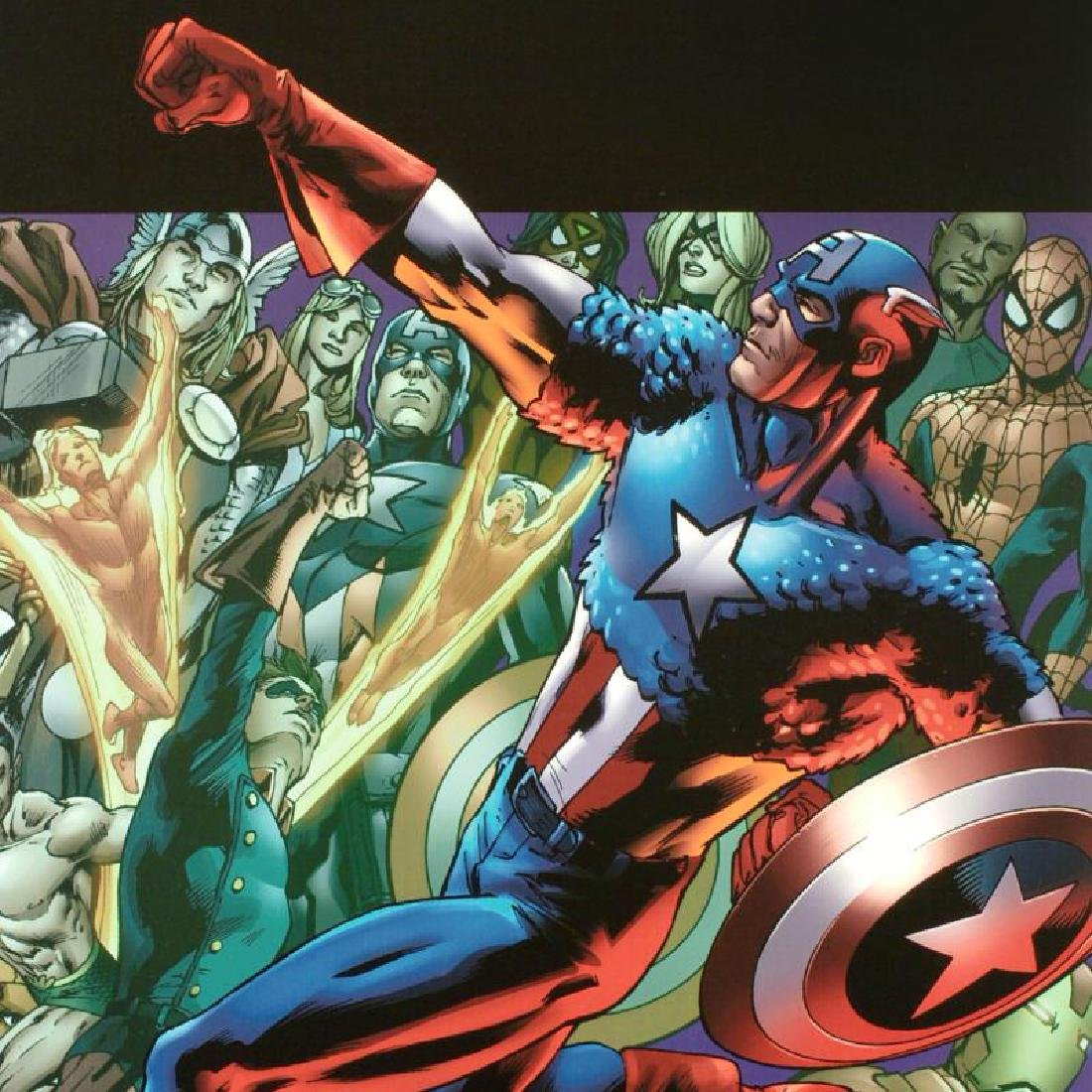 """""""Captain America: Man Out Of Time #5"""" Limited Edition - 4"""