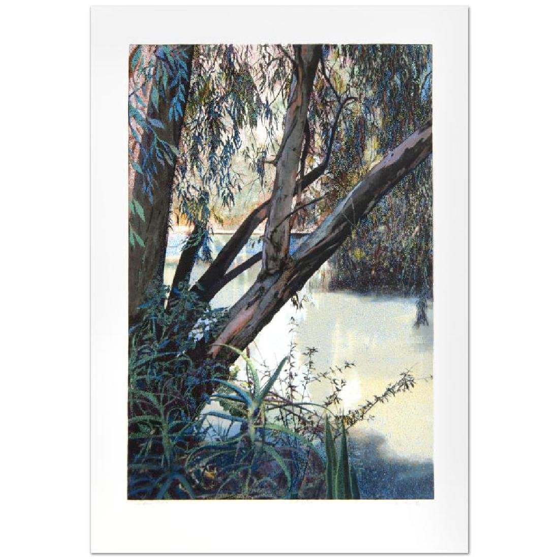 "Jordan River Limited Edition Serigraph (25"" x 36"") by - 2"