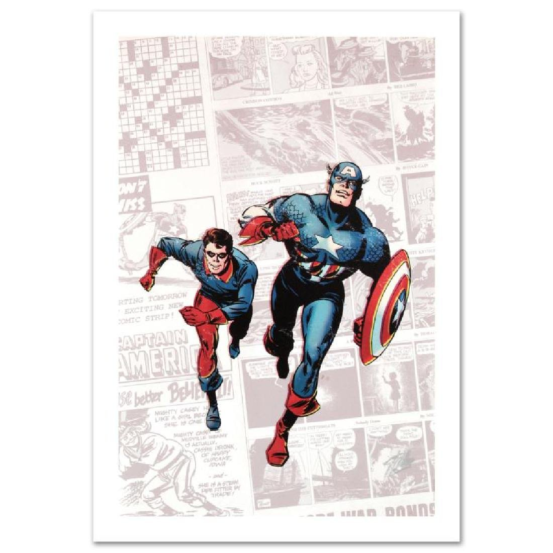 """""""Captain America: The 1940s Newspaper Strip"""" Limited - 3"""