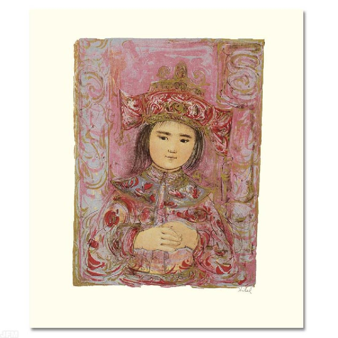 """Child of the East"" Limited Edition Lithograph by Edna"