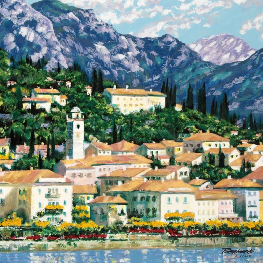 """Bellagio Hillside"" Embellished Limited Edition - 2"