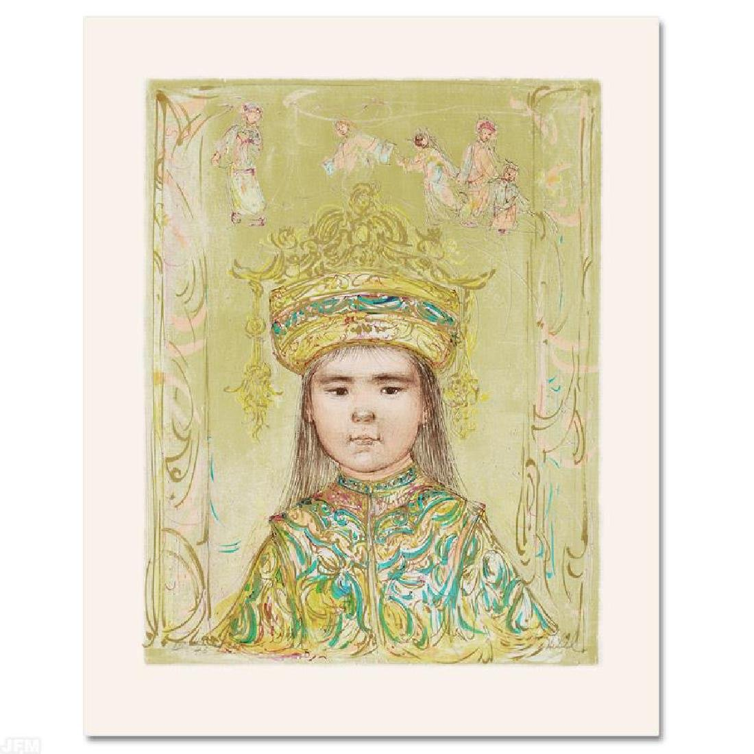 """""""Oriental Daydream"""" Limited Edition Lithograph by Edna - 3"""